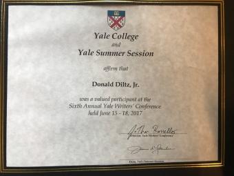 YWC Certificate